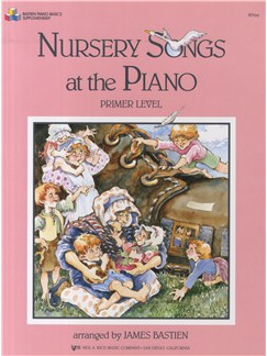 Nursery Songs For The Piano Primer Books | Voice, Piano