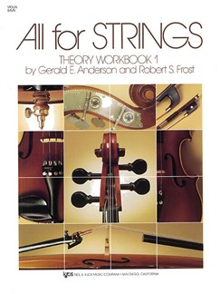 All For Strings Theory Workbook 1 Violin Books | Violin