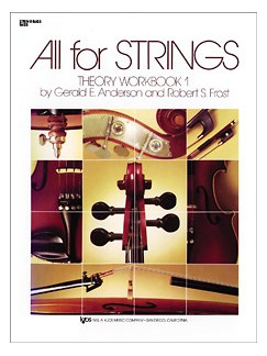 All For Strings Theory Workbook 1 Cello Books | Theory