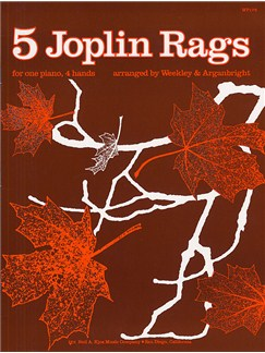Five Joplin Rags For Piano Duet Books | Piano Duet