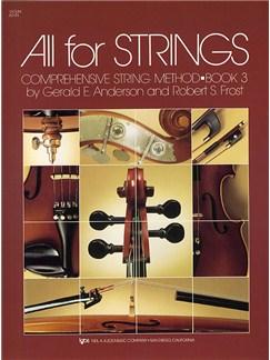 All For Strings Book 3 Violin Books | Violin