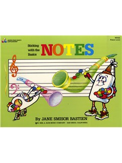 Jane Smisor Bastien: Sticking With The Basics - Notes Books | Piano