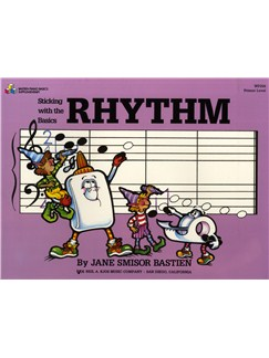 Bastien: Sticking With The Basics Rhythm Books | Piano