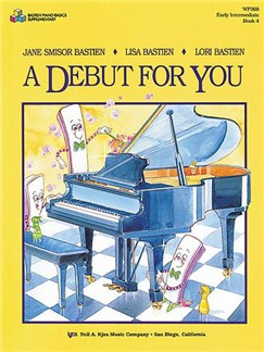 Bastiena Debut For You Book 4 Piano Books | Piano