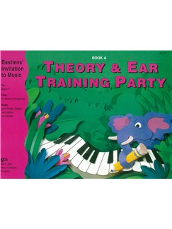 Bastiens' Invitation To Music: Theory And Ear Training Party - Book A Books | Piano