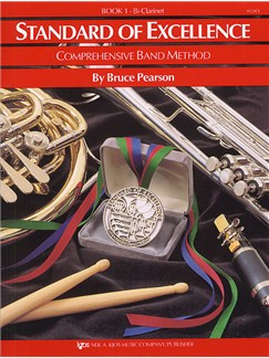 Standard Of Excellence: Comprehensive Band Method Book 1 (B Flat Clarinet) Books | Clarinet, Concert Band