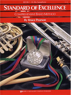 Standard Of Excellence: Comprehensive Band Method Book 1 (E Flat Alto Saxophone) Books | Alto Saxophone, Concert Band