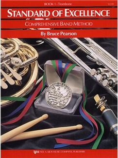 Standard Of Excellence: Comprehensive Band Method Book 1 (Trombone Bass Clef) Books | Brass Ensemble, Trombone, Big Band & Concert Band