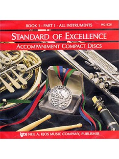 Standard Of Excellence: Comprehensive Band Method Book 1 - Part 1 (Accompaniment CD) CDs | Concert Band