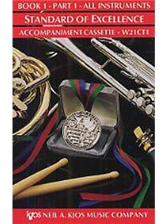 Standard Of Excellence: Comprehensive Band Method Book 1 - Part 1 (Accompaniment Cassette)  | Concert Band