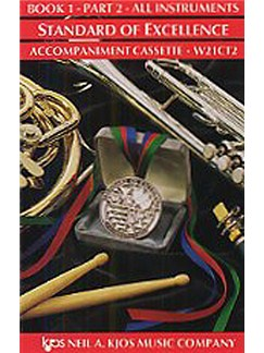 Standard Of Excellence: Comprehensive Band Method Book 1 - Part 2 (Accompaniment Cassette)  | Big Band & Concert Band