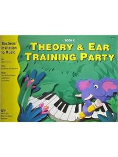 Bastiens' Invitation To Music: Theory And Ear Training Party Book C Books | Piano