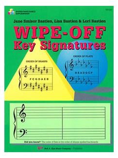 Bastien Piano Basics: Wipe-off Key Signatures  |