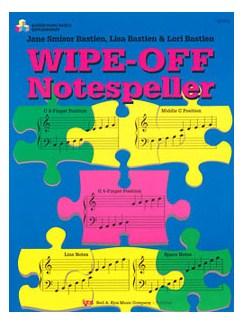 Bastien Piano Basics: Wipe-Off Note Speller Books | Piano