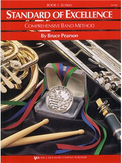 Standard Of Excellence: Comprehensive Band Method Book 1 (E Flat Horn) Books | Horn, Concert Band