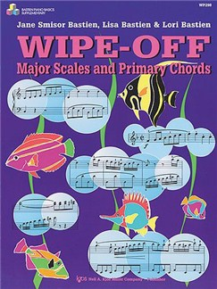 Bastien Piano Basics: Wipe-off Major Scales & Primary Chords Books |