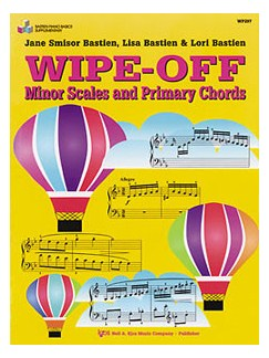 Bastien Piano Basics: Wipe-off Minor Scales & Primary Chords Books |