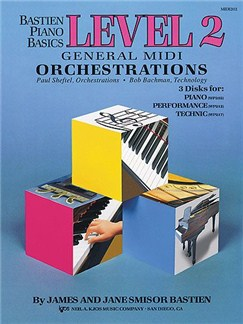 Bastien Piano Basics: General Midi Orchestrations Level 2 Books and CD-Roms / DVD-Roms | Piano