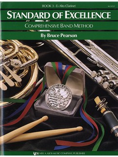 Standard Of Excellence Book 3 E Flat Alto Clarinet Books | Brass Instruments