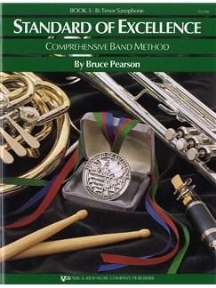 Standard Of Excellence: Comprehensive Band Method Book 3 (B Flat Tenor Saxophone) Books | Tenor Saxophone