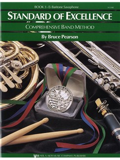 Standard Of Excellence Book 3 E Flat Baritone Saxophone Books | Brass Instruments