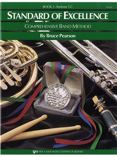 Standard Of Excellence: Comprehensive Band Method Book 3 (Baritone Treble Clef) Books | Brass Instruments