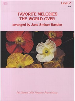 Favorite Melodies The World Over - Level 2 Books   Voice, Piano Accompaniment