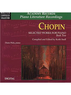 Frederic Chopin: Selected Works For Piano Book 2 (CD Only) CDs | Piano