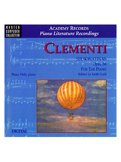Clementi 6 Sonatinas Op.36 For Piano Cd Only CDs | Piano
