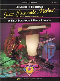 Standard Of Excellence: Jazz Ensemble Method (1st Alto Saxophone) Books and CDs | Alto Saxophone