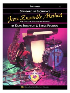 Standard Of Excellence: Jazz Ensemble Method (Baritone Saxophone) Books and CDs | Baritone Saxophone
