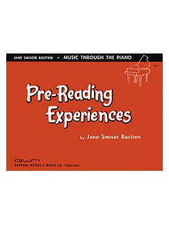 Bastien Pre-reading Experiences Books | Piano