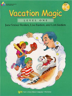 Bastien: Vacation Magic (Level One) Books and CDs | Piano