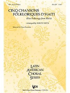 Cinq Chansons Folkloriques d'Haiti Books | SSA