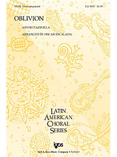 Astor Piazzolla: Oblivion (SATB) Livre | SATB