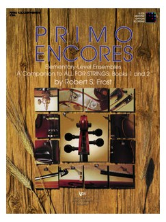 Robert Frost: Primo Encores (Score) Books | String Quartet