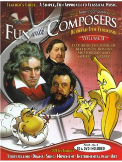 Deborah Lyn Ziolkoski: Fun With Composers - Volume II (Teacher's Guide) Books, CDs and DVDs / Videos |