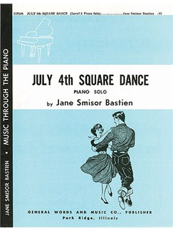 Jane Bastien: July 4th Square Dance Books | Piano