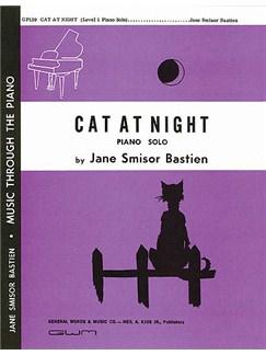 Jane Bastien: Cat At Night Books | Piano