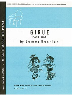 James Bastien: Gigue Books | Piano