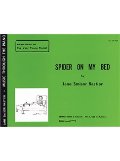 Jane Bastien: Spider On My Bed Books | Piano