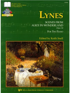 Frank Lynes: Scenes From Alice In Wonderland Op.50 (Piano) Books | Piano