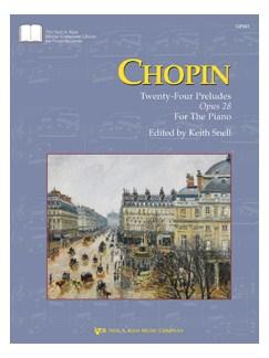 Chopin: Twenty-Four Preludes - Opus 28 Books | Piano