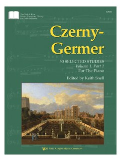 Czerny-Germer: 50 Selected Studies - Volume 1, Part 1 Books | Piano