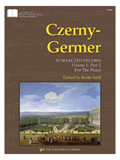 Czerny-Germer: 32 Selected Studies - Volume 1 Part 2 Books | Piano