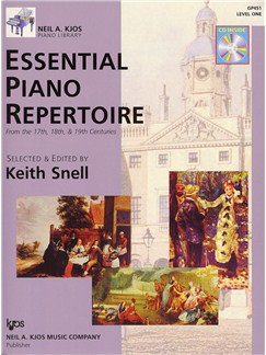 Neil A. Kjos Piano Library: Essential Piano Repertoire - Level 1 Books and CDs | Piano