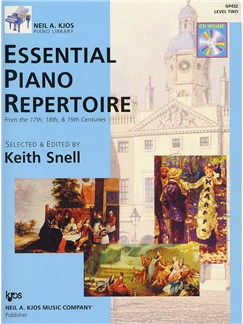 Neil A. Kjos Piano Library: Essential Piano Repertoire - Level 2 Books and CDs | Piano