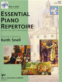 Neil A. Kjos Piano Library: Essential Piano Repertoire - Level 3 Books and CDs | Piano