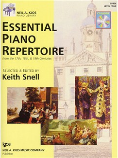 Essential Piano Repertoire - Level 4 (Book And CD) Books and CDs | Piano