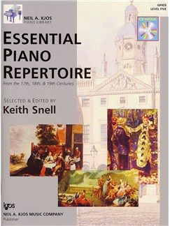 Essential Piano Repertoire - Level 5 (Book And CD) Books and CDs | Piano